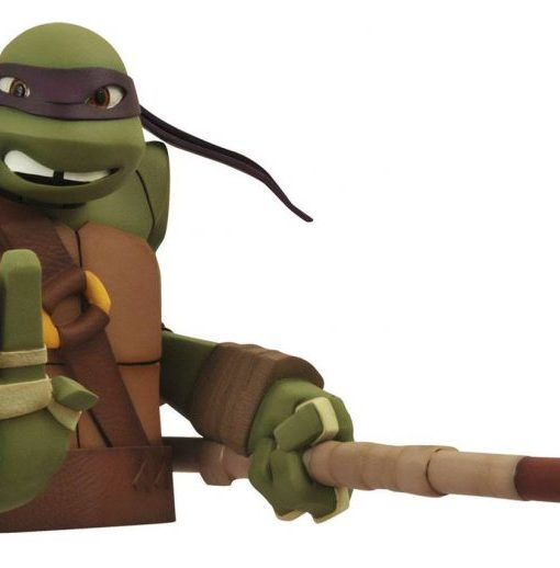 x_diamapr141972 Teenage Mutant Ninja Turtles Bust Bank Donatello 20 cm