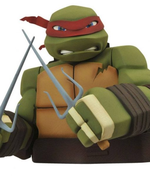 x_diamapr141975 Teenage Mutant Ninja Turtles Bust Bank Raphael 20 cm