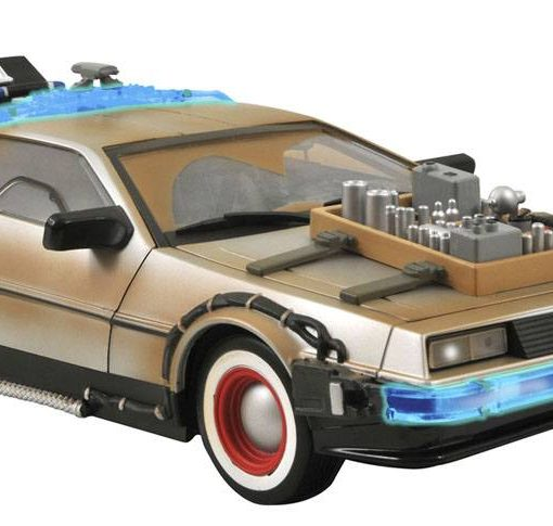 x_diamnov091220 Back to the Future III Model DeLorean 36 cm