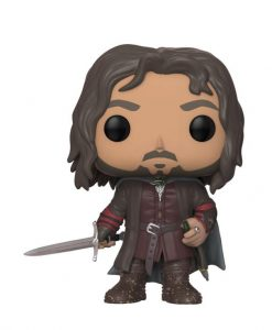 x_fk13565 Lord of the Rings POP! Movies Vinyl Figure Aragorn 9 cm