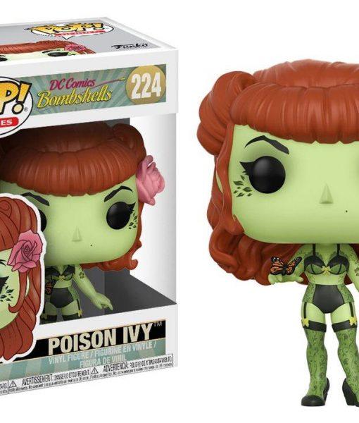 x_fk22887 DC Comics Bombshells POP! Heroes Vinyl Figure Poison Ivy 9 cm