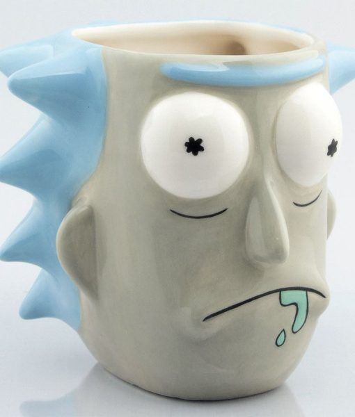 x_gye-mgm0008 Rick & Morty 3D Mug Rick Sanchez