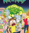 x_gye-rckmrtybin_a Rick and Morty Poster 61 x 91 cm Displa