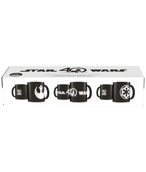 x_sdtsdt02819 Star Wars Mug 3-Pack 40th Anniversary Limited Edition