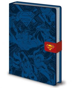 x_sr72409 DC Comics Premium Notebook A5 Superman Montage