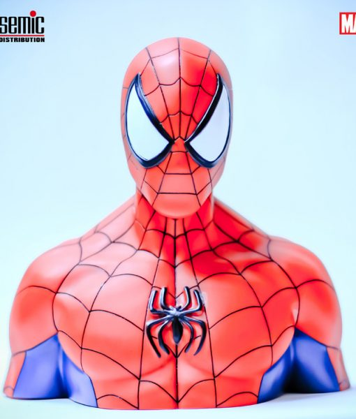 xbbsm001 Marvel Comics Coin Bank Spider-Man 17 cm