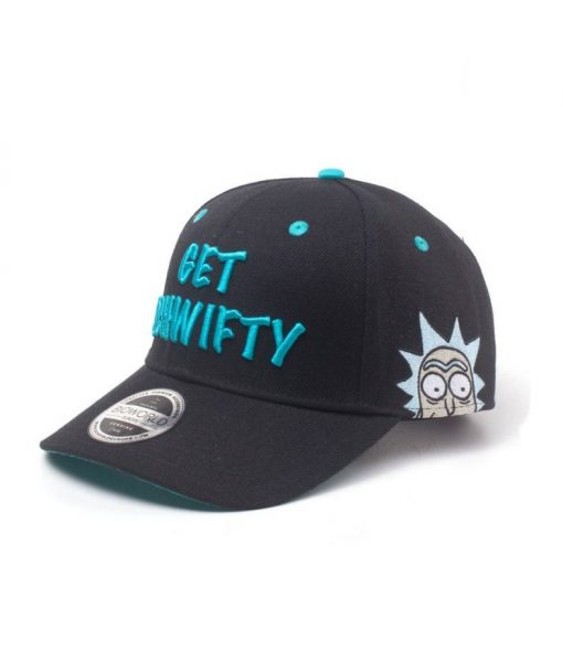 x_ba005235rmt Rick and Morty Baseball Cap Get Schwifty