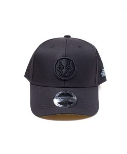 x_ba130041mvl Black Panther Movie Baseball Cap Logo