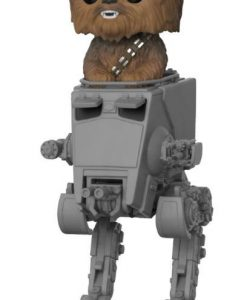 x_fk27023 Star Wars POP! Deluxe Vinyl Figure Chewbacca with AT-ST 10 cm