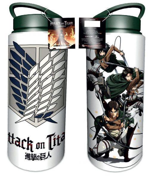 x_gye-dba0024 Attack on Titan Drink Bottle Scouts