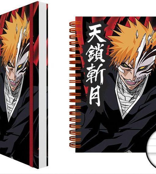 x_gye-nba0044 Bleach Notebook A5 Ichigo Mask Case