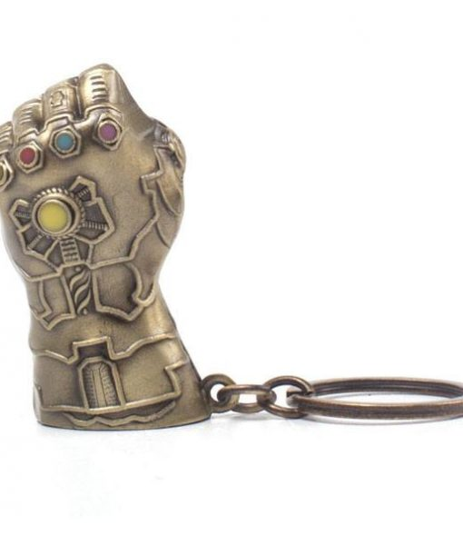 x_ke766378avg Avengers Infinity War Metal Keychain Thanos Fist 7 cm