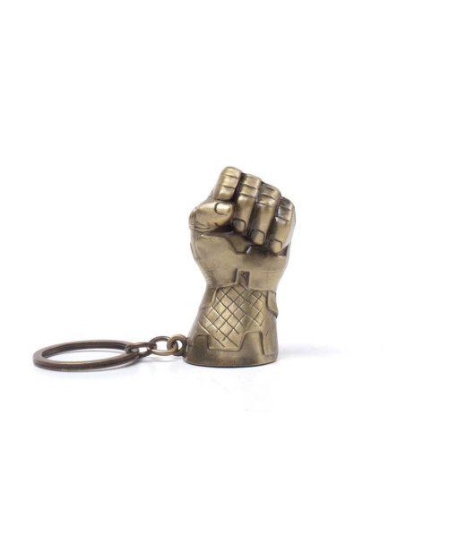 x_ke766378avg_a x_ke766378avg Avengers Infinity War Metal Keychain Thanos Fist 7 cm