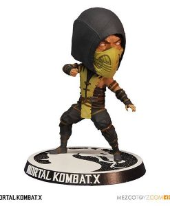 x_mez89260 Mortal Kombat X Bobble-Head Scorpion 15 cm