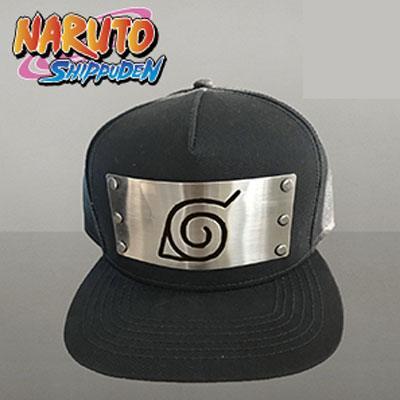 x_pcmsb004nat Naruto Snap Back Cap Konoha