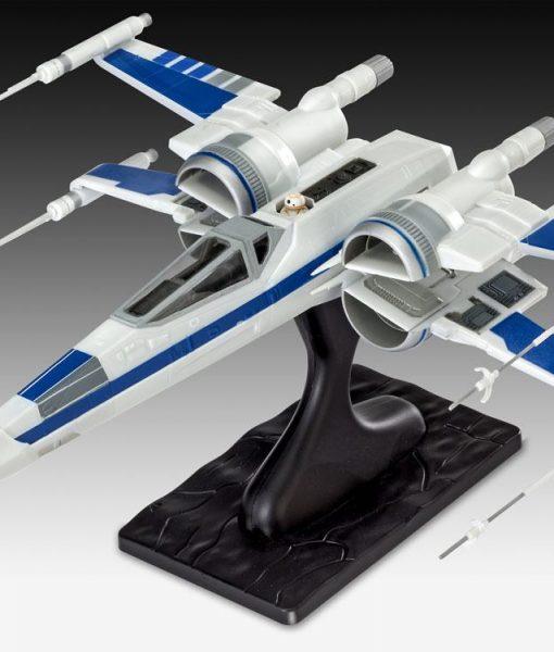 Star Wars Episode VII EasyKit Model Kit Resistance X-Wing Fighter 25 cm