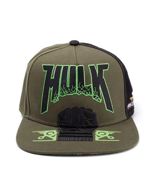 x_sb601002thr Thor Ragnarok Snap Back Baseball Cap Hulk Fist