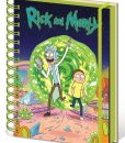 x_sr72404 Rick and Morty Notebook A5 Portal