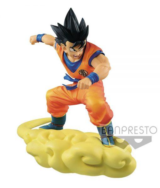 x_banp26717 Dragonball Z Figure Son Goku on Flying Nimbus 18 cm