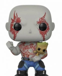 x_fk21464 Guardians of the Galaxy 2 POP! Vinyl Bobble-Head Drax & Groot 9 cm