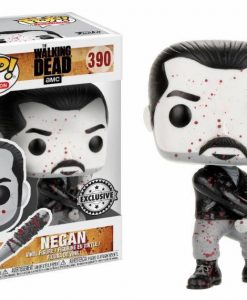 x_fk22498 Walking Dead POP! Television Vinyl Figure Black & White Negan 9 cm