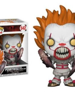 x_fk29526 Stephen King's It 2017 POP! Movies Vinyl Figure Pennywise with Spider Legs 9 cm