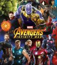x_pp34296 Avengers Infinity War Poster Pack Characters 61 x 91 cm