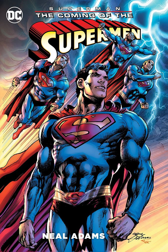 x dcjul160421 DC Comics Comic Book Superman The Coming of the Supermen by  Neal Adams english d9829302d5