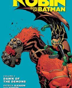 x_dcmay160318 DC Comics Comic Book Robin Son Of Batman Vol. 2 Dawn Od The Demons by Patrick Gleason english