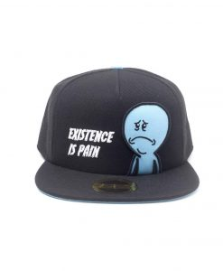 x_sb104548rmt Rick and Morty Embroidery Snapback Cap Mr. Meeseeks