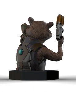 x_smb001 Guardians of the Galaxy Vol. 2 Bust 1/6 Rocket Raccoon & Groot 16 cm