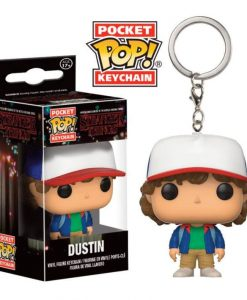 x_fk14229 Stranger Things Pocket POP! Vinyl Keychain Dustin 4 cm