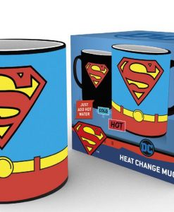 x_gye-mgh0057 Superman Heat Change Mug Costume