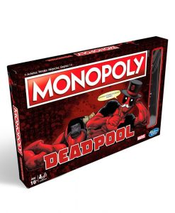 x_hase2033102 Marvel Board Game Monopoly Deadpool Edition *English Version*