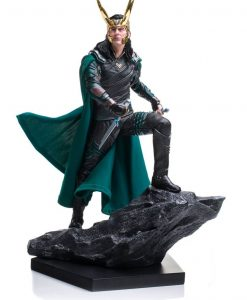 x_is30100 Thor Ragnarok Battle Diorama Series Statue 1/10 Loki 25 cm