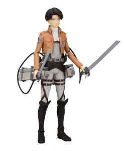 x_mcf12020-2 Attack on Titan Action Figure Levi Ackerman 18 cm