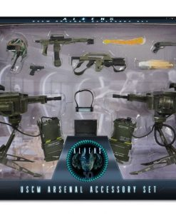 x_neca51630 Aliens USCM Arsenal Weapons Accessory Pack for Action Figures