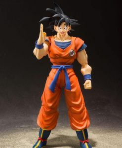 x_btn20877-8 Dragonball Z S.H. Figuarts Akciófigura - Son Goku (A Saiyan Raised On Earth)