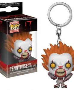 x_fk31809 Stephen King's It 2017 Funko Pocket POP! kulcstartó - Pennywise (Spider Legs)