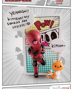 x_bkdmea-0046 Marvel Comics Mini Egg Attack Figura - Deadpool Jump Out 4th Wall 12 cm