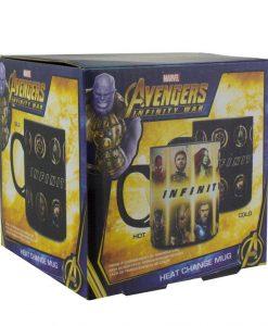 x_pp4385mviw Marvel Comics - Avengers Infinity War Characters Hőre változós bögre