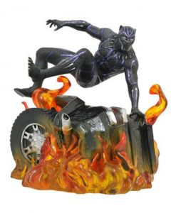 d_diammay182305 Black Panther Marvel Movie Gallery PVC Szobor - Black Panther Version 2 23 cm