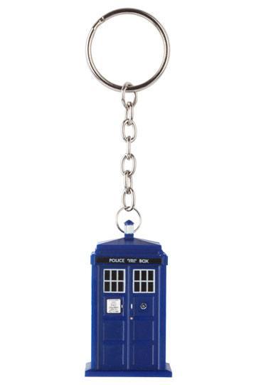 x_zltddr123 Doctor Who - Light-Up Tardis kulcstartó