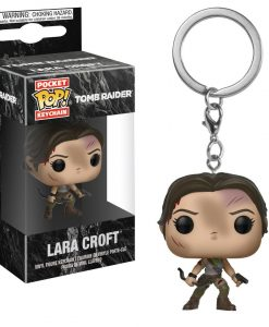 x_fk32394 Tomb Raider POP! kulcstartó - Lara Croft 4 cm