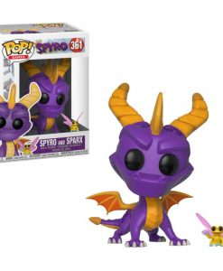 x_fk32763 Spyro the Dragon POP! Figura - Spyro & Sparx 9 cm