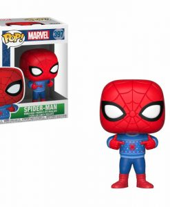 x_fk33983 Marvel Comics Marvel Holiday Funko POP! figura - Spider-Man (Ugly Sweater) 9 cm