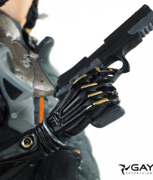 x_ge3223 Deus Ex Mankind Divided PVC Szobor - Adam Jensen 21 cm
