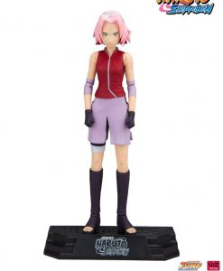 x_mcf12015-8 Naruto Shippuden Color Tops Action Figure Sakura 18 cm