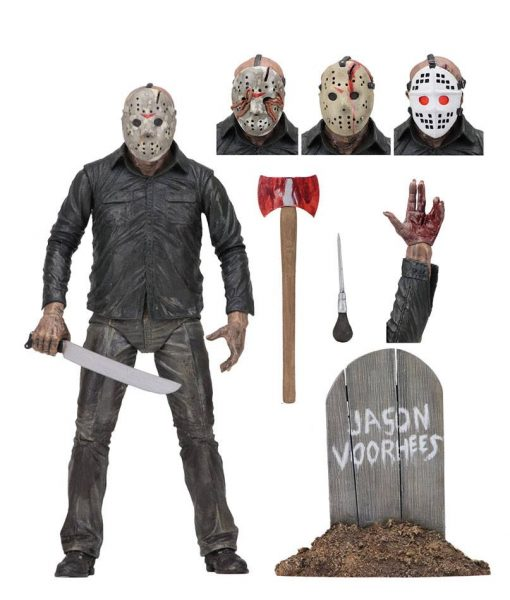 x_neca39709_g Friday the 13th Part 5 akciófigura - Ultimate Jason 18 cm