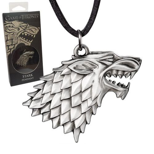 x_nob0085 Game of Thrones - Stark Sigil Costume nyaklánc
